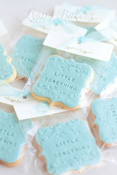 Iced cookies that you can add your own personalized message to