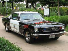66 Mustang DARE Car...