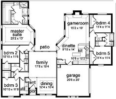 Eplans New American House Plan   Five Bedroom New American   2746 Square  Feet And 5 Bedrooms From Eplans   House Plan Code