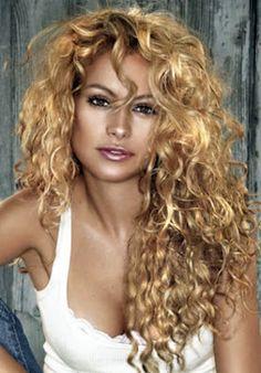 Long curly bangs! This is def my hair! Natural curly! Messy!!! Can't do anything with it!!