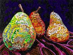 still lifes illustration Food Collage, Paper Collage Art, Collage Artists, Paper Art, Collages, Lichtenstein Pop Art, Sweet Wrappers, Candy Wrappers, Collage Portrait