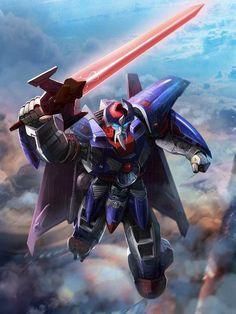 Autobot Leader Alpha Trion Artwork From Transformers Legends Game