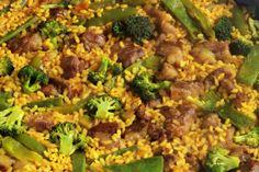 Te enseñamos a preparar de manera sencilla la receta de arroz con brocoli, judías verdes y cerdo ibérico, con ingredientes, tiempos y trucos para...