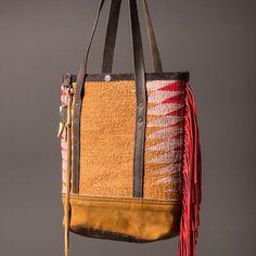 Navajo mini tote, in the web shop