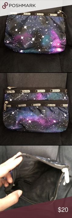 ✨festy fashiom✨LeSportsac galaxy pouch ✨🌌LeSportsac galaxy pouch.               ✖️like new. Extra zipper pouch on 1 side. High quality nylon bag ❌no trades 💌guaranteed fast shipping LeSportsac Bags Cosmetic Bags & Cases