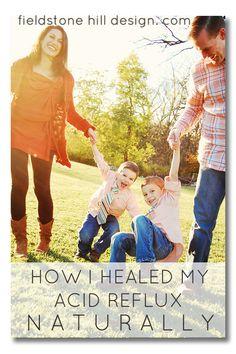 How I healed my Acid Reflux Naturally (with SCD diet aka GAPS) via Fieldstone Hill Design