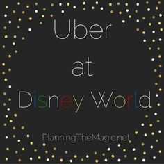 Using Uber at Disney World can save time and money. And it's inexpensive! You can take Uber anywhere with Disney and I'll show you how.