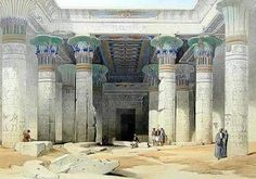 The magnificent Temple of Isis at Philae. Kleopatra was thought to be the human incarnation of the goddess.