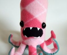 little felt octopus
