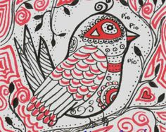mexican folk art bird
