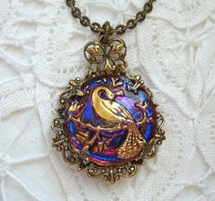 This is a necklace that William gives to Belle when she leaves, so that she may remember him.