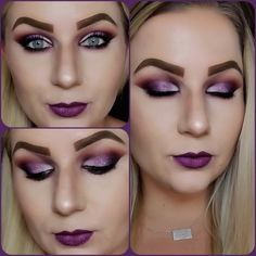 James Charles Palette with Nyx glitter. Lipstick by smashbox. Makeup Looks 2018, Glitter Lipstick, Morphe, Nyx, Naked, Halloween Face Makeup, Palette, Beauty, Pallet