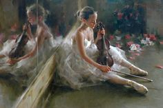 summer-melody - Paintings by Stephen Pan  <3 <3