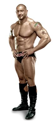 "BATISTA Height: 6'6"" Weight: 290 lbs. From: Washington, D.C. Signature Move: Batista Bomb Career Highlights: World Heavyweight Champion; WWE Tag Team Champion; World Tag Team Champion; 2005 Royal Rumble winner; WWE Champion"
