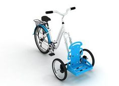 Adaptable system for bikes, to make it the most used mean of transportation in Costa Rican beaches, even when locals or tourists need to carry loads.