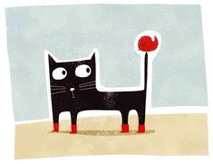 Gaspard, the botted cat :)