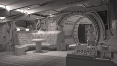 Definitive ANH Falcon Interior
