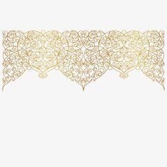 Base de oro decorativos, Vector, Patrón, Oro PNG y Vector