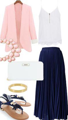 maxi skirt chic_ summer night out by Kami :) #maxiskirt #nightout #summer