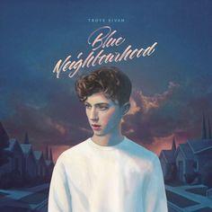 !!CD Worldwide shipping!! #TroyeSivan l'album per il 2015 è #BlueNeighbourhood Vieni a comprarlo in negozio da #CDCLUB in versione CD Deluxe oppure compralo sul nostro store online! (Clicca sulla copertina) il nuovo album in 24 ore è già a casa tua!! ;)