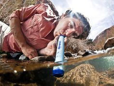 Portable water purification filter for hiking ,camping,travel ,emergency preparedness,survival and etc Camping Survival, Survival Gear, Survival Gadgets, Camping Gear, Outdoor Survival, Survival Guide, Survival Skills, Camping Hacks, Edc Gadgets