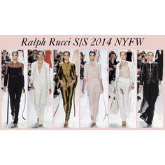 Ralph Rucci S/S 2014 NYFW