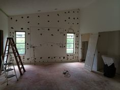 Master Bedroom being gutted