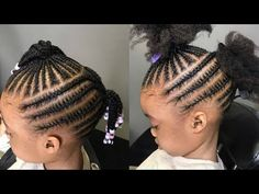 Special Toddler Hairstyles Compilations Part 8 Black Baby Girl Hairstyles, Little Girls Natural Hairstyles, Little Girl Braid Hairstyles, Toddler Braided Hairstyles, Kid Hairstyles, Girl Haircuts, Little Girl Braid Styles, Little Girl Braids, Braids For Kids