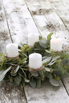 """syflove: """"candles wreath """""""