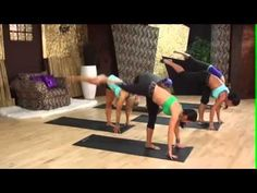 ▶ Melissa McAllister PIYO Demonstration - Fitness and Health - YouTube