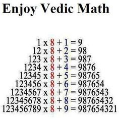 Enjoy Vedic Maths  Peace