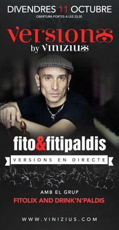 Aquest divendres tribut a #Fito&Fitipaldis!! #concert #música #tribut #directe