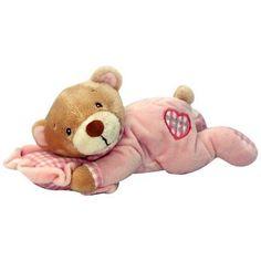 HFG-L14094 15CM Soft Toy Bear Sleeping on Pillow