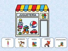 Las TIENDAS Paper Doll House, Paper Dolls, Bingo, Sorting, Spanish, Homeschool, Messages, Activities, Shopping
