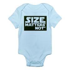 Size matters not Infant Bodysuit