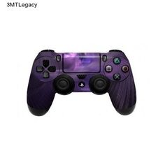 Controller PS4 Skin Dualshock 4 Sticker Decal Wrap Purple Pink Gray Playstation