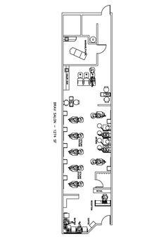 Salon Design Layout | Nail Salon Floor Plans – Find Pdf documents ...