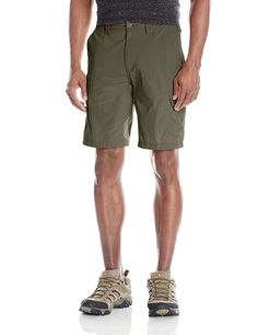 ExOfficio Men's Nomad Shorts: The Nomad Short is perfect for all your adventurous endeavors. Quick drying and lightweight fabric keep you cool and dry, and UPF rated sun protective fabric saves your skin from harmful rays. Biker Boys, Biker Girl, Hiking Pants, Hiking Clothes, Mens Outdoor Clothing, Happy Guy, Camping Outfits, Outdoor Outfit, Shorts