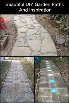 Add a  path to your garden! Here are some examples to get your imagination going.