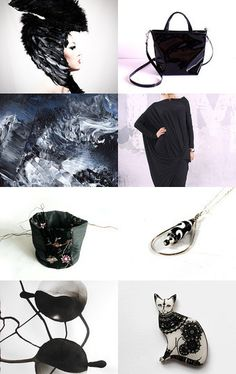 B and W - black and white by Angela on Etsy