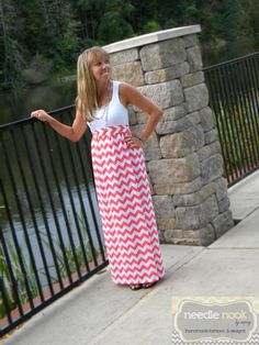 The MaxiTank Dress  Women's Maxi Dress  by needlenookbymarcy