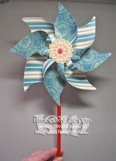 how to make an 8 point pinwheel