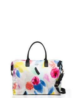my next travel bag: classic nylon lyla weekender - Kate Spade New York Nylon Tote, Kate Spade Bag, Travel Bags, Diaper Bag, Shoulder Bag, Purses, Shoe Bag, Classic, York