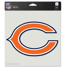 Chicago Bears 8x8 Perfect Cut Color Decal - $12.99 at Sportsfan Store