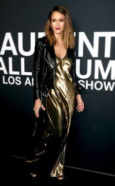 Metallic Clothing: Shine Bright Like a Star-Studded Diamond  ESC: Metalics, Jessica Alba