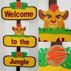 Lion King Door Sign Lion Guard Door Sign SImba Kion Jungle