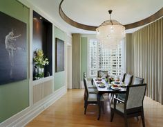 Beijing Penthouse - contemporary - Dining Room - New York - BWArchitects (formerly Basil Walter Architects)