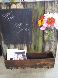 In Distress Reclaimed Wood Message Board http://bec4-beyondthepicketfence.blogspot.com/2011/07/in-distress.html