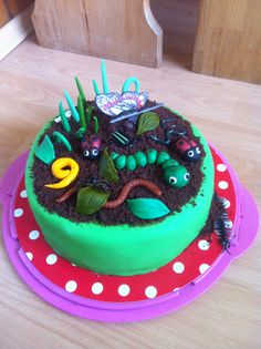 Insect cake