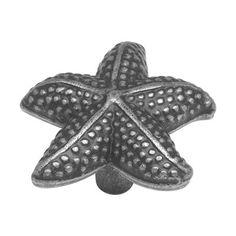 Starfish drawer pulls